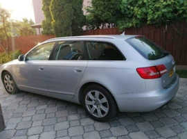 Audi A6, 2009 (09) Srebro Estate, Manual Diesel, 120,000 miles