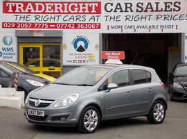 Vauxhall Corsa, 2007 (57) Silver Hatchback, Manual Petrol, 62,011 miles
