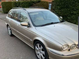 Jaguar X-TYPE, 2005 (05) Beige Estate, Manual , 130,000 miles