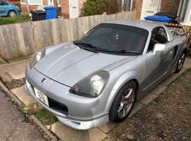Toyota Mr-s, 2000 (X) Silver Convertible, Manual Petrol, 54,806 miles