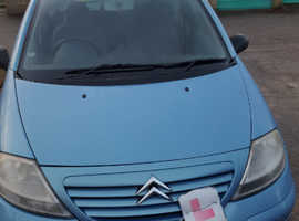 Citroen C3, 2002 (02) Blue Hatchback, Manual Petrol, 89,000 miles