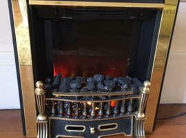 Coal effect adjustable heater