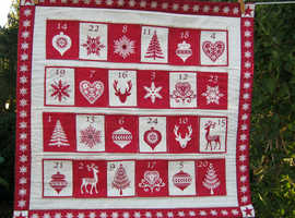 Scandi fabric Advent calendar