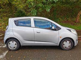 Chevrolet Spark, 2011 (11) Silver Hatchback, Manual Petrol, 61,768 miles