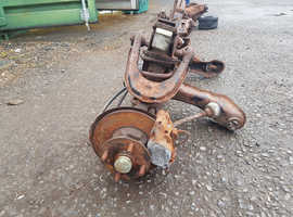 Vauxhall viva hc front subframe, steering rack and hubs and calipers & disks all complete and working