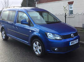 15 Vw Caddy Maxi **AUTOMATIC** Only 23k Miles** New Mot** Bargain £11,995