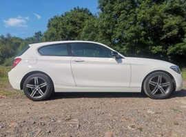 BMW 1 series, 2013 (63) White Hatchback, Manual Petrol, 46,000 miles
