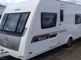 2013 4 BERTH ELDDIS AVANTE 574 FAMILY CARAVAN WITH TWIN SINGLE BED LAYOUT.  LOVELY CONDITION. FULL BATHROOM WITH SEPARATE SHOWER.