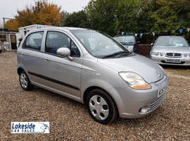 Chevrolet Matiz 1.0 Litre 5 Door Hatch, Full Service History, New MOT No Advisories, Cheap Insurance