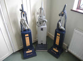 3 X SEBO HOOVERS VACUMM CLEANERS - NEW BELTS REQUIRED