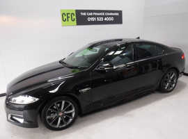 Jaguar Xf, 2013 (13) Black Saloon, Automatic Diesel, 99,000 miles