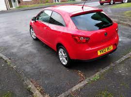 Seat Ibiza, 2012 (12) Red Hatchback, Manual Petrol, 42,000 miles