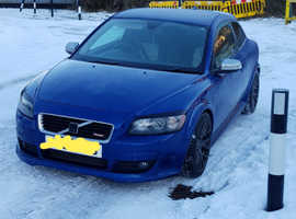 Volvo C30, r design 2008 (57) Blue Hatchback, Manual Diesel, 135,304 miles