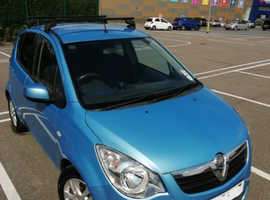 Vauxhall Agila SE, 2012 (62) Blue Hatchback, Manual Petrol, 55,700 miles £30 Tax
