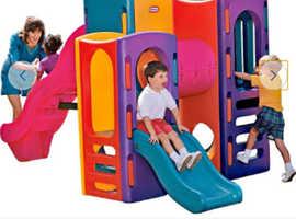 Little tikes playground climbing frame
