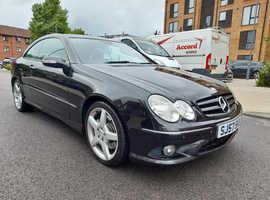 Mercedes Clk, 2007 (57) Black Coupe, Automatic Diesel, 143,563 miles