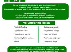We need you !! Volunteering opportunities within Leicestershire County Council