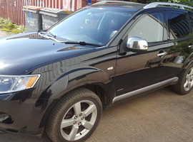 Mitsubishi Outlander, 2008 (08) Black Estate, Manual Diesel  Brand new mot