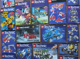 REDUCED to £650 OVVNO Lego Technic Massive Collection 20 Sets Makes 37 Different Models A Bargain Steal WAS £800-00 (worth a lot more)