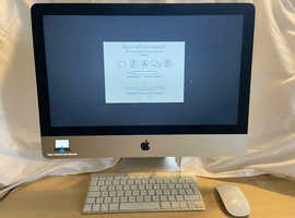 Apple iMac 21.5 in Quad Core i5 2.5GHz 8GB 500GB DVDRW ( Apple Certified Renewed ) Free Delivery!