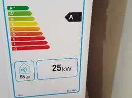 Worcester Bosch Greenstar Danesmoor 18-25 KW A Rated oil fired condensing boiler