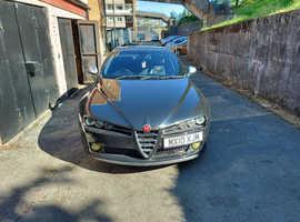 Alfa Romeo 159 ti 170, 2010 (10) Black Saloon, Manual Diesel, 120,698 miles