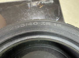 Continental tyre 255/40 R18 ZR 99 brand new