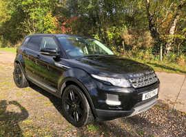 Land Rover Range Rover Evoque, 2012 (12) Black Estate, Automatic Diesel, 57,867 miles
