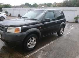 Land Rover Freelander, 2000 (W) Black Estate, Manual Petrol, 82,000 miles