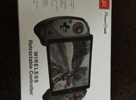 Wireless retractable controller