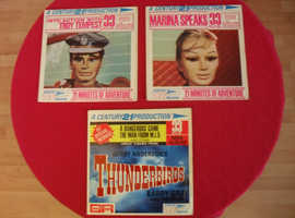 Thunderbirds, Stingray etc. 6 picture ep's form the 60's puppet shows.