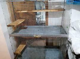Degu/chinchilla cages