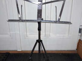Stainless Steel Folding Music Stand