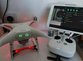 "DRONE DJI PHANTOM 4 PRO SENSOR 1 "", 20 MEGAPIXEL"