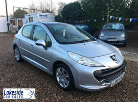 Peugeot 207 S 1.6 Litre 5 Door Hatchback, Long MOT, Full Service History, Only £30 A Year Road Tax.