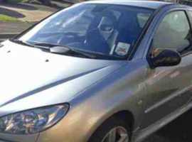 Peugeot 206, 2004 (04) Silver Hatchback, Manual Petrol, 90.000 miles