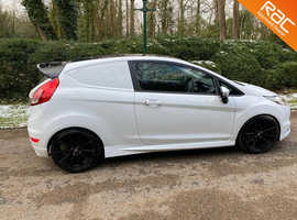 Ford fiesta 1.5 TDCi Van  CAR DERIVED VAN 2013 White  84,096 miles  Mot- 02/22 Full ford service history  Manual  Diesel NO VAT!