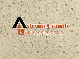 Call on  Almond Quartz Worktops for Renovate the Kitchen and Home Look