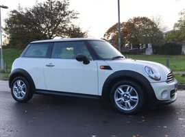 Mini Cooper, 2013 (Q) white Coupe, Automatic Petrol, 56960 miles
