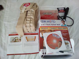 DR-HO'S 2-in1Back Relief Belt
