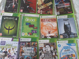 Xbox360 including12 games