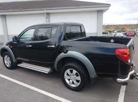 Mitsubishi L200, 2006 (06) Black 4x4, Manual Diesel, 131,000 miles