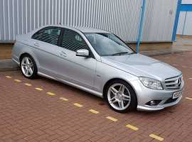 Mercedes C CLASS, 2009 (09) Silver Saloon, Automatic Diesel, 73,000 miles
