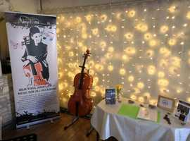 Cello acoustic music entertainment for your wedding or function