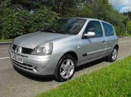 Renault Clio, 2007 (56) silver Hatchback, Manual Petrol, 80000 miles