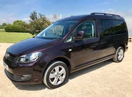 2014 Volkswagen Caddy Maxi C20 Life Diesel WAV Wheelchair Disabled *31K Miles*