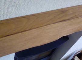 Oak fireplace beam