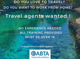 Travel agents wanted!