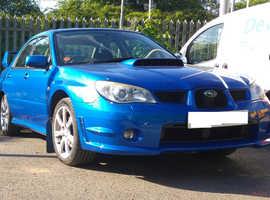 Subaru IMPREZA WRX, 2006 (06) blue saloon, Manual Petrol, 64,000 miles