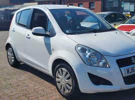 Suzuki Splash, 2013 (63) White Hatchback, Manual Petrol, 42,850 miles